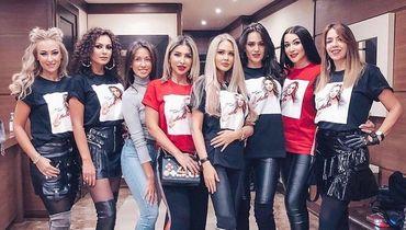 Обузевшие. Мария Погребняк и другие жены футболистов на концерте Ольги Бузовой
