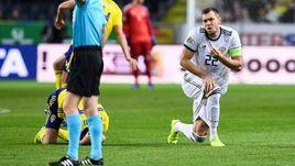 20 ноября. Стокгольм. Швеция - Россия - 2:0. Артем Дзюба.