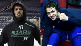 Александр Радулов и Артемий Панарин.