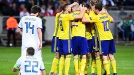 20 ноября. Стокгольм. Швеция - Россия - 2:0. Россияне проиграли главный матч осени.