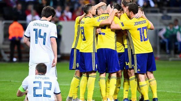 Швеция – Россия – 2:0. Лига наций, видео голов