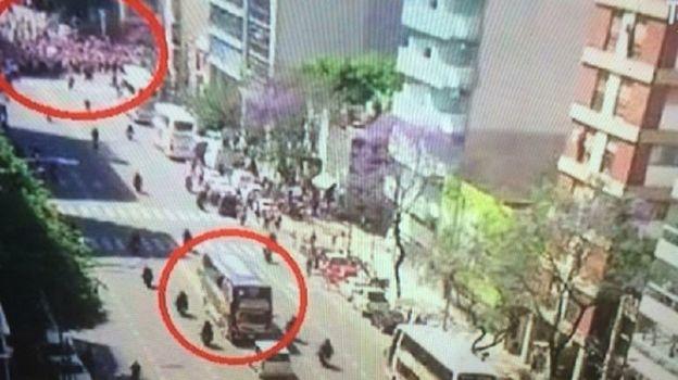 Беспорядки перед финалом Кубка Либертадорес