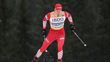 Лыжные гонки, этап Кубка мира в Лиллехаммере, россиянин Александр Большунов выбыл в четвертьфинале, Клебо сломал палку