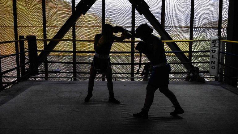 Боксеры-любители. Фото AFP