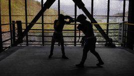 Боксеры-любители.