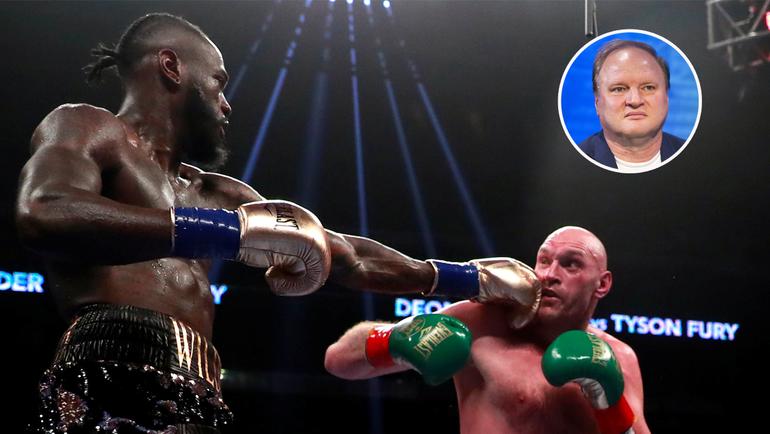 Деонтей Уайлдер vs. Тайсон Фьюри. Фото AFP