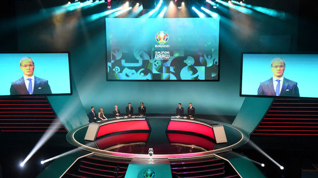 С кем сыграет сборная России в отборе Евро-2020, результаты жеребьевки, Станислав Черчесов