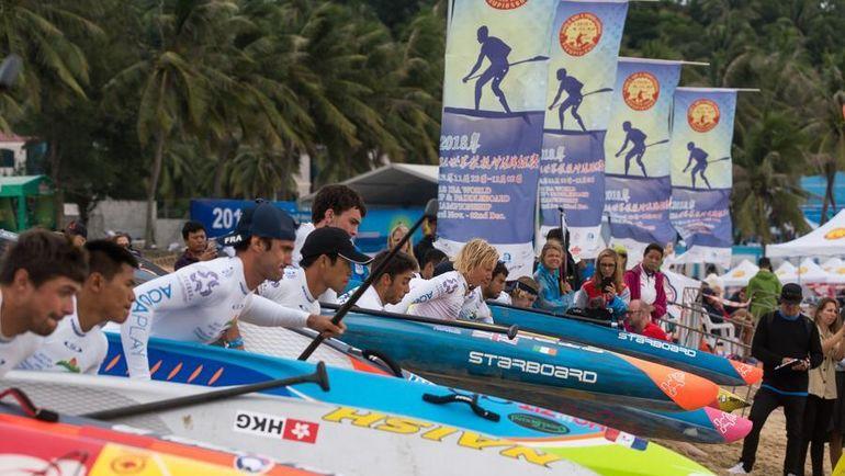 Начало ISA world sup and paddleboard championship.