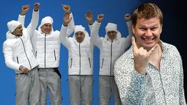 Олимпийская команда России по лыжным гонкам vs Дмитрий Губерниев.