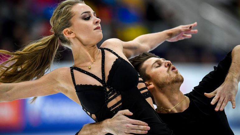 Александра Степанова и Иван Букин. Фото AFP
