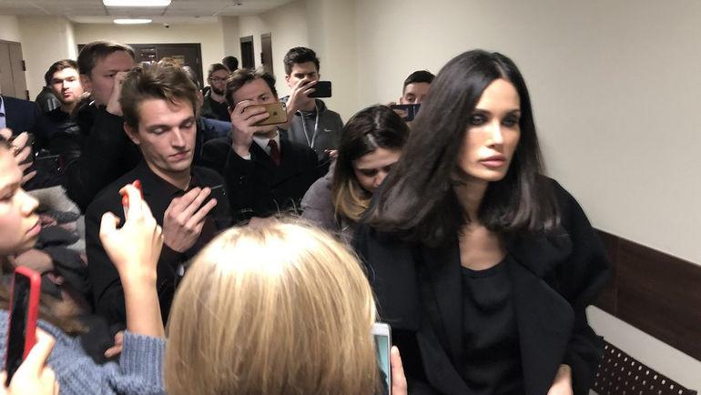 """Алана Мамаева в суде. Фото """"СЭ"""""""