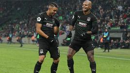 """25 ноября. Краснодар. """"Краснодар"""" - """"Арсенал"""" - 3:0. Вандерсон и Ари."""