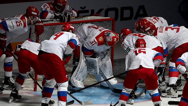 Сборная России по хоккею. Фото ФХР