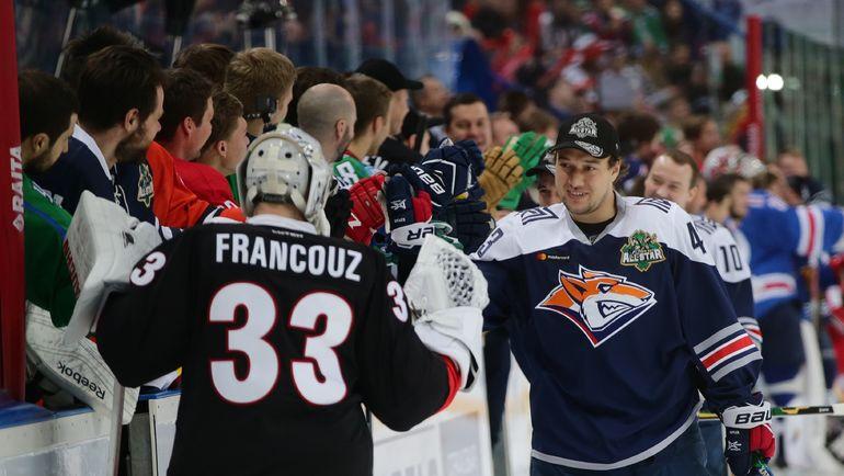 Ян Коварж (справа) вернется в КХЛ? Фото photo.khl.ru