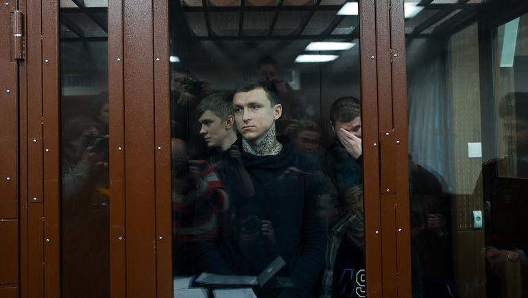 """28 ноября. Москва. Павел Мамаев на заседании суда. Фото Дарья Исаева, """"СЭ"""""""