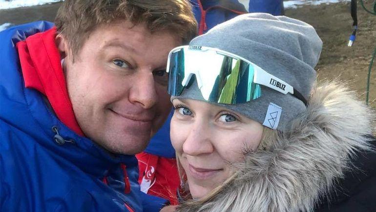 Дмитрий Губерниев и Евгения Павлова. Фото instagram.com