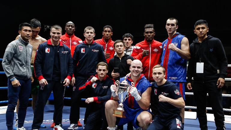 Сборные России и мира. Фото Федерация бокса России