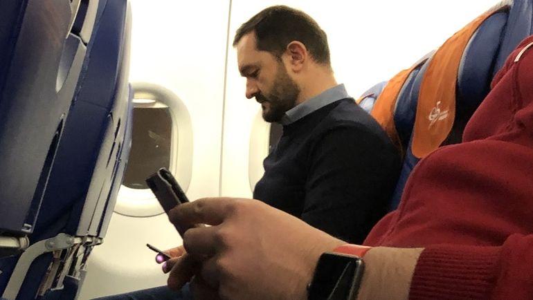 Измайлов и Родионов летят в Валенсию эконом-классом. Фото Дмитрий Зеленов, «СЭ»