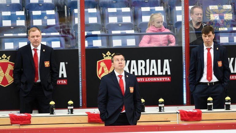 Илья Воробьев (в центре). Фото ФХР