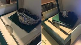 Часы Rolex.