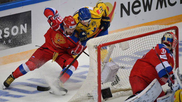 Россия – Швеция – 3:2. Кубок Первого канала, 13 декабря 2018, обзор матча