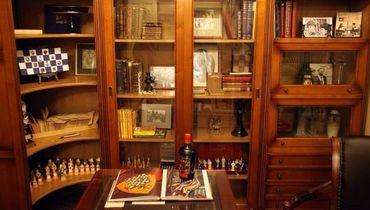 В музее шахмат новый экспонат