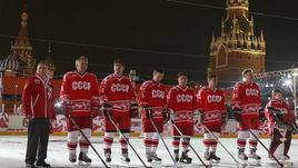 9 декабря 2006 года. Москва. Красная площадь. Сборная СССР - Сборная мира - 10:10.
