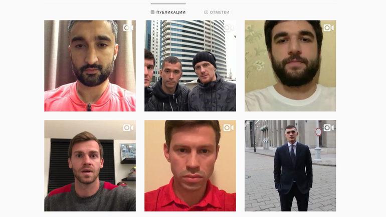 Обновление постов в Инстаграме Кокорина.