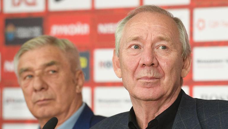 Олег Романцев (справа) и Георгий Ярцев. Фото Дарья Исаева, «СЭ»