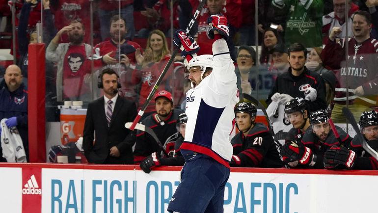 Александр Овечкин: есть еще один хет-трик! Фото USA TODAY Sports