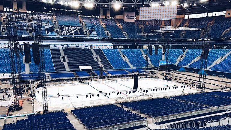 """Стадион """"Зенита"""" готов к матчу Кубка Первого канала. Фото Твиттер"""