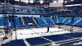 """Стадион """"Зенита"""" готов к матчу Кубка Первого канала."""