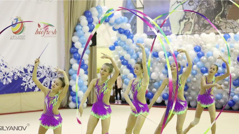 Открытый турнир по художественной гимнастике. Фото Станислав Сильянов