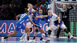 Гандбол. Чемпионат Европы. Женщины. Финал. Россия - Франция.