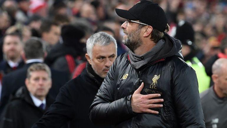 """16 декабря. Ливерпуль. """"Ливерпуль"""" - """"Манчестер Юнайтед"""" - 3:1. Юрген Клопп (на переднем плане). Фото AFP"""