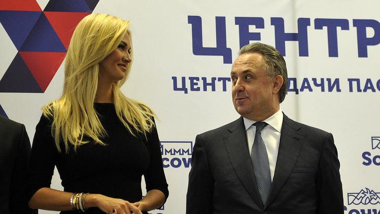 Виктория Лопырева и Виталий Мутко. Фото Алексей Иванов