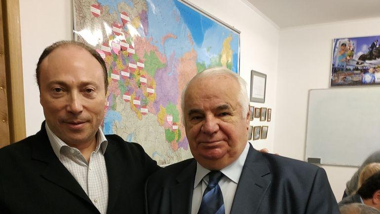 Вячеслав Аминов и Олег Хапланов.