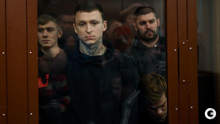 Кирилл Кокорин, Павел Мамаев, Александр Протасовицкий и Александр Кокорин (слева направо).