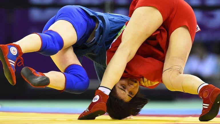 МОК принял решение о временном признании Международной федерации самбо. Фото AFP
