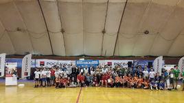 Уфимские школьники соревнуются в мини-футболе