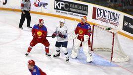 20 декабря. Кэмлупсе. США - Россия - 3:2. Россияне вели со счетом 2:0, но уступили американцам.