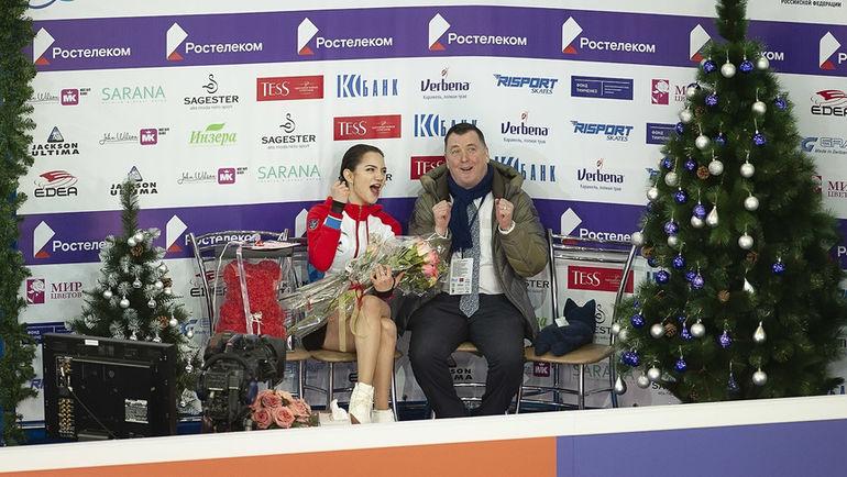22 декабря. Саранск. Евгения Медведева и Брайан Орсер.