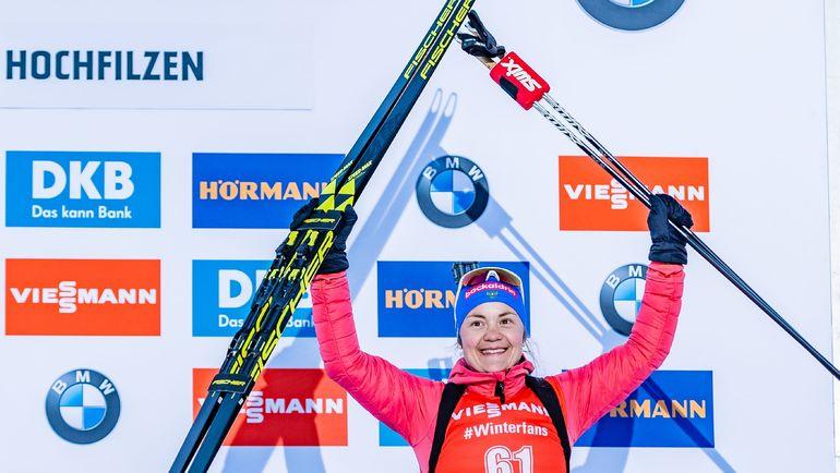 Екатерина Юрлов-Перхт. Фото AFP