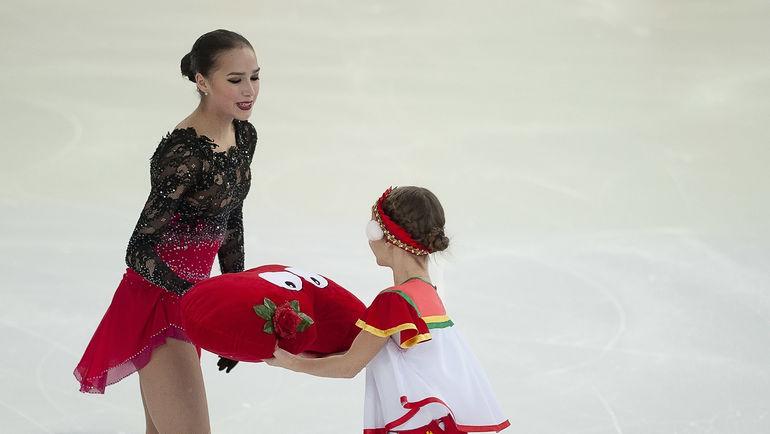 Алина Загитова - только пятая на чемпионате России. Но едет на ЧЕ-2019 в основном составе. Фото Ксения Нуртдинова