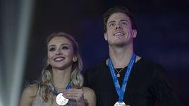 23 декабря. Саранск. Виктория Синицина и Никита Кацалапов.