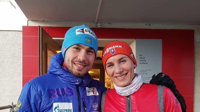 Антон Шипулин и Анастасия Кузьмина. Фото Инстаграм