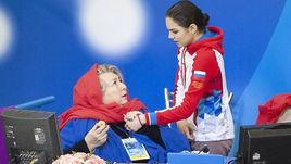 22 декабря. Саранск. Татьяна Тарасова и Евгения Медведева.