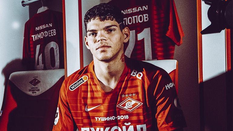 Защитник Айртон Лукас стал первым новичком красно-белых при Олеге Кононове.