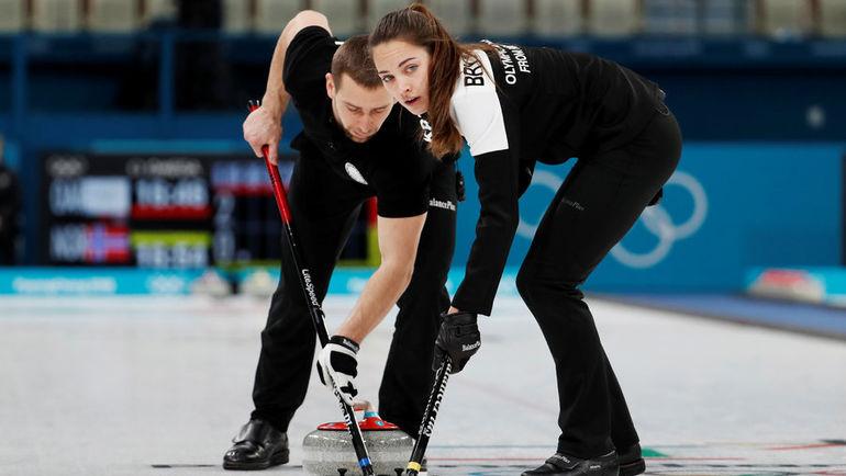 Александр Крушельницкий и Анастасия Брызгалова. Фото REUTERS