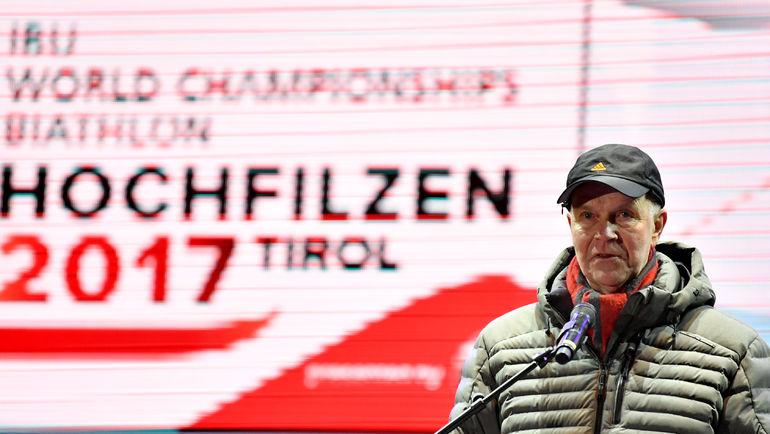 Бывший президент IBU Андрес Бессеберг. Фото AFP